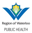 region of waterloo public health logo